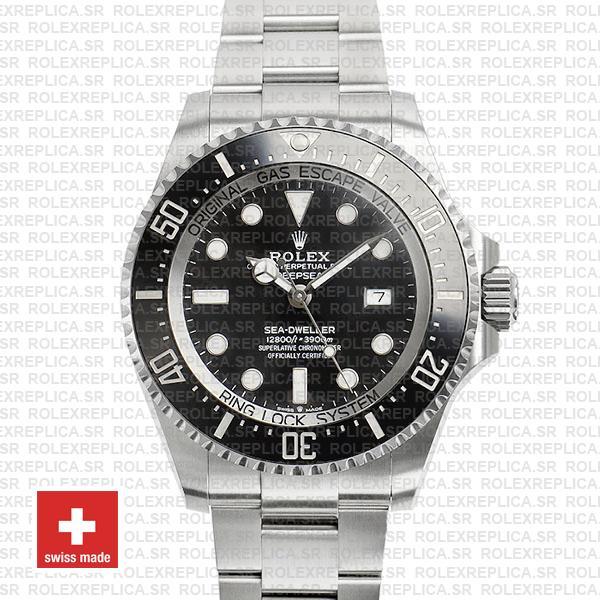 Rolex Sea-Dweller Deepsea Black Dial 904L Steel