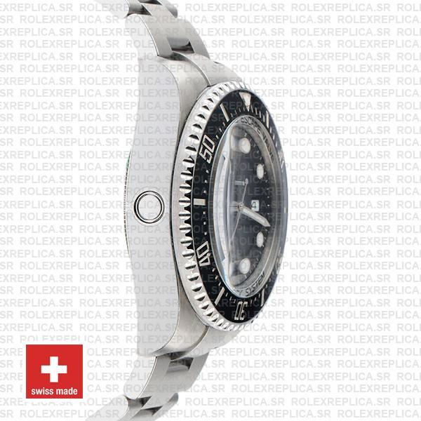 Rolex Sea-Dweller Deepsea Black Dial 904L Steel 44mm