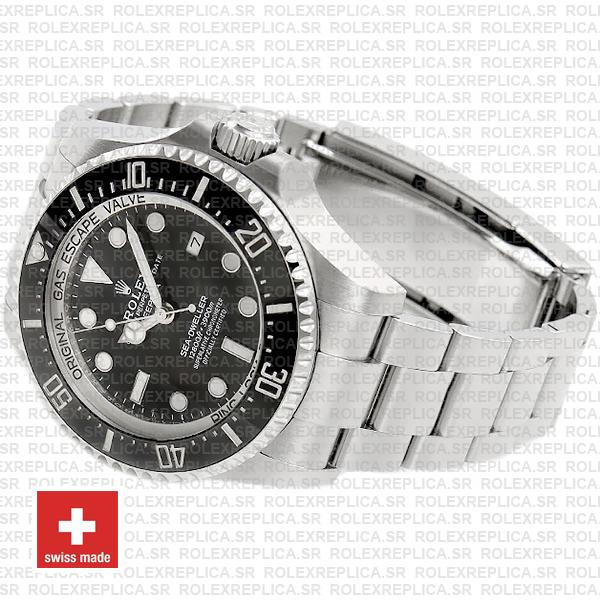 Rolex Deepsea Sea-Dweller Black Dial 44mm 904L Steel 126660