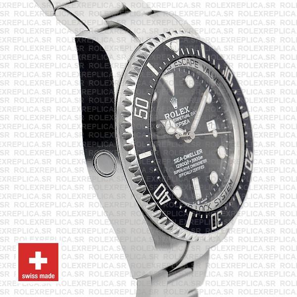 Rolex Deepsea Sea-Dweller Black Dial 44mm 904L Steel 126660 Ceramic Bezel