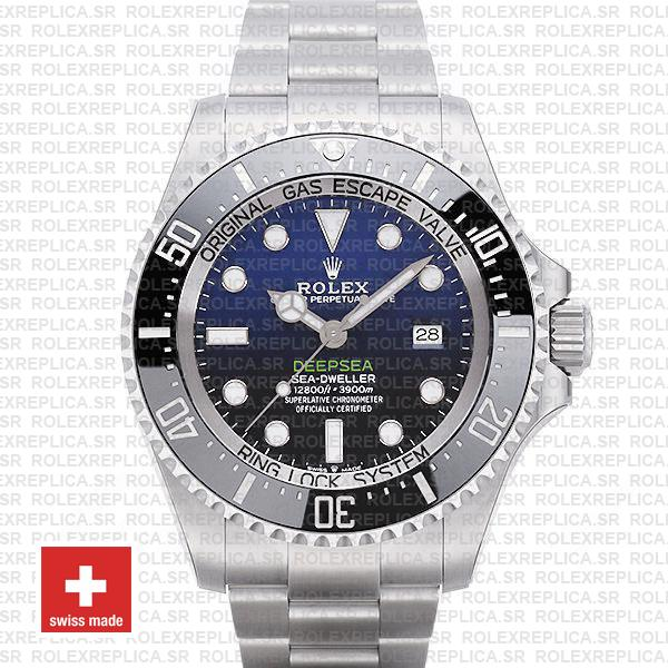 Rolex Deepsea D Blue Dial James Cameron 44mm 126660 Swiss Replica