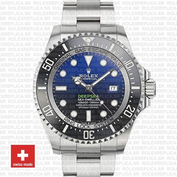 Rolex Deepsea D-Blue Sea-Dweller 126660 Rolex Replica Watch