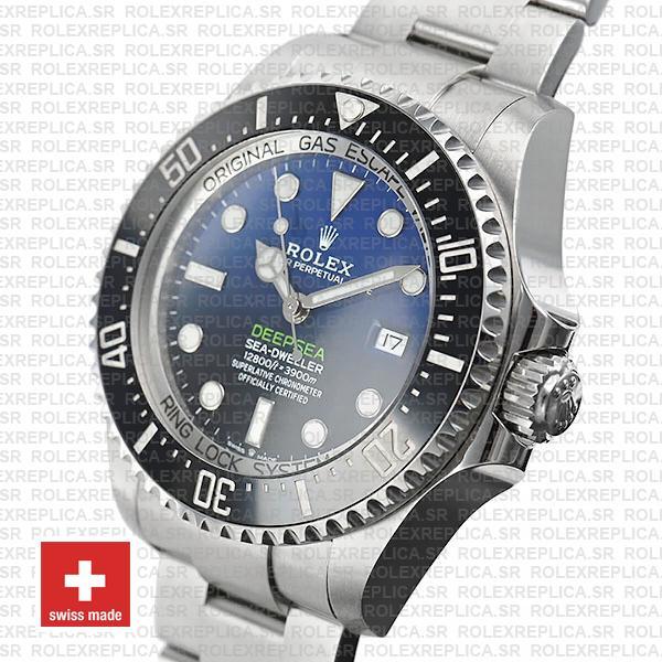 Rolex Deepsea D-Blue Sea-Dweller 126660 Replica