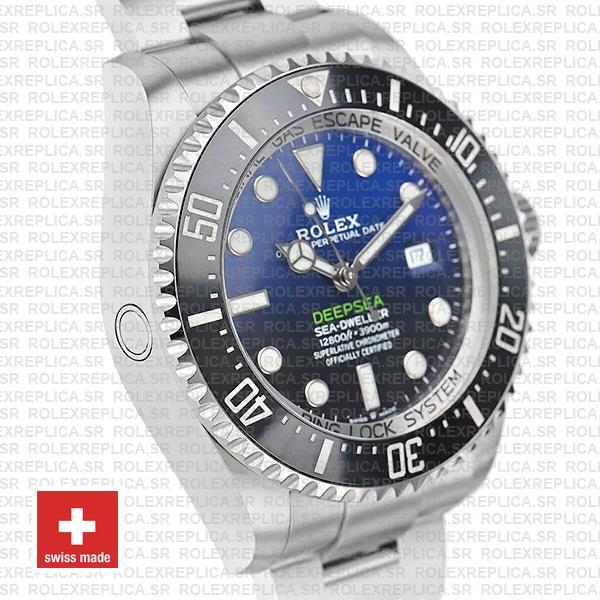Rolex Deepsea D-Blue Sea-Dweller 126660