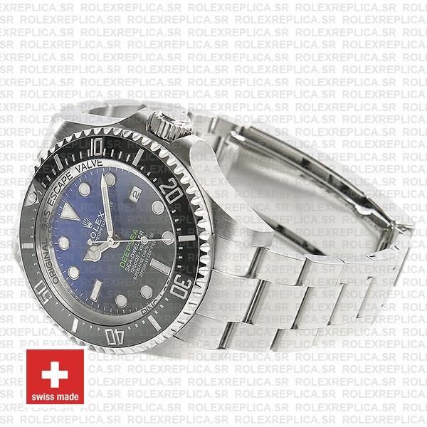Rolex Sea-Dweller Deepsea D-Blue Blue-Black Dial