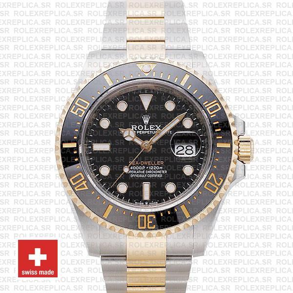 Rolex Sea-Dweller 904L Steel | Two-Tone Gold Replica Watch