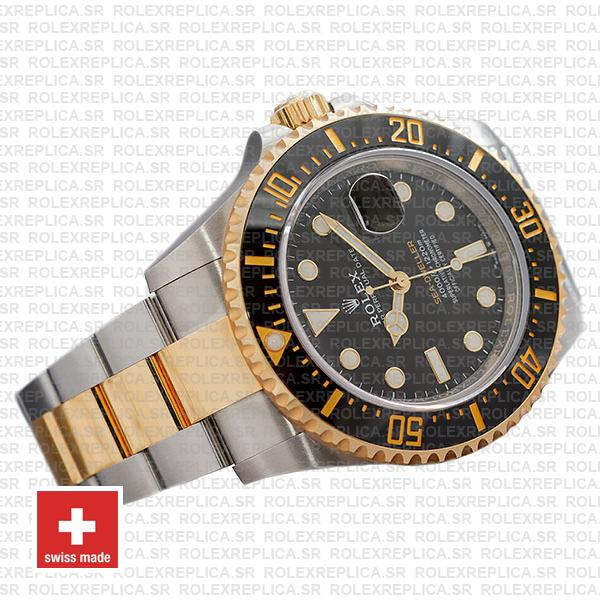Rolex Sea-Dweller Deepsea Two Tone in 18k Yellow Gold