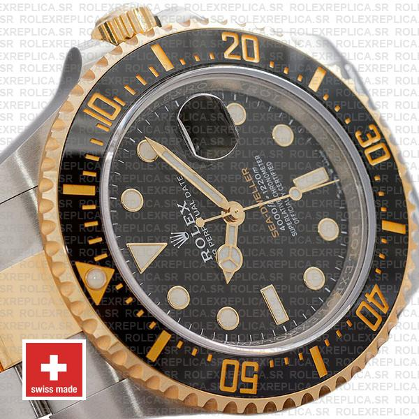 Rolex Sea-Dweller Deepsea Two Tone in 18k Yellow Gold 904L