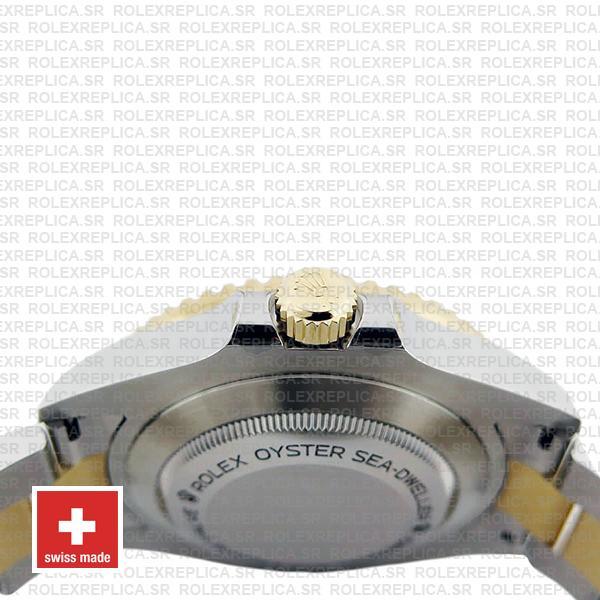 Rolex Sea-Dweller Deepsea Two Tone in 18k Yellow Gold 904L Stainless Steel