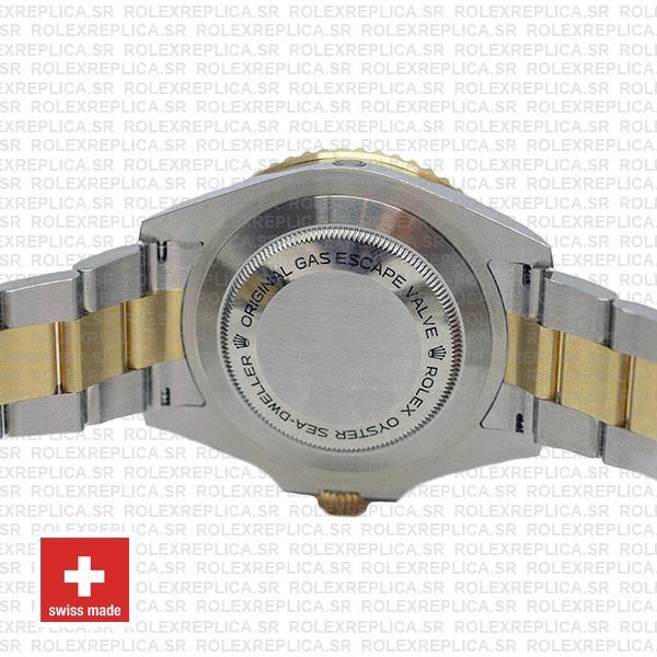 Rolex Sea-Dweller Deepsea Two Tone in 18k Yellow Gold 904L Stainless Steel Black Dial Watch