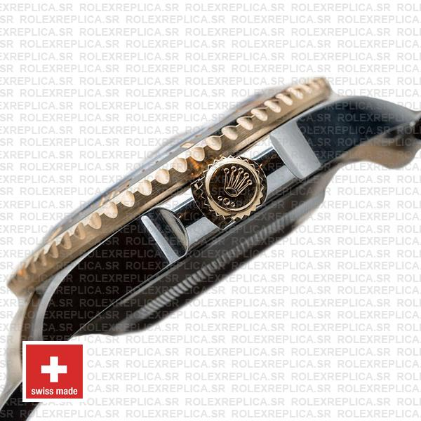Rolex Sea-Dweller Deepsea Two Tone in 18k Yellow Gold 904L Stainless Steel Ceramic Bezel