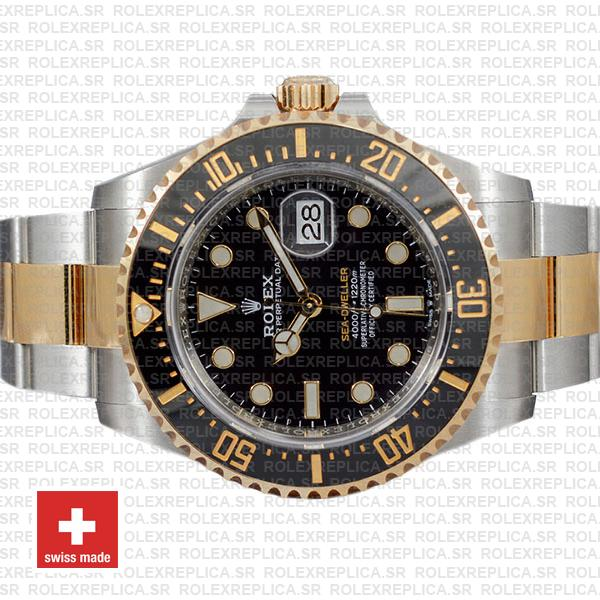 Rolex Sea-Dweller 904L Steel | Two-Tone Gold 43mm