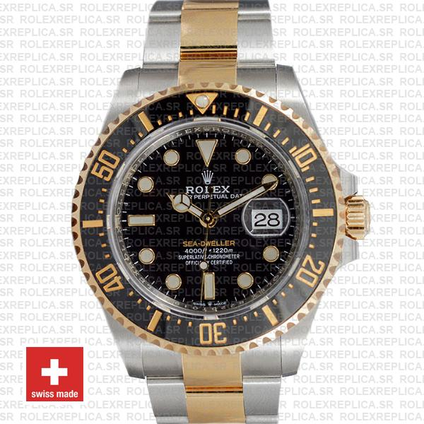 Rolex Sea-Dweller 904L Steel | Two-Tone Gold 43mm Watch