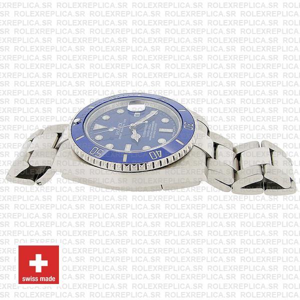 Rolex Submariner White Gold Blue Dial 40mm Watch