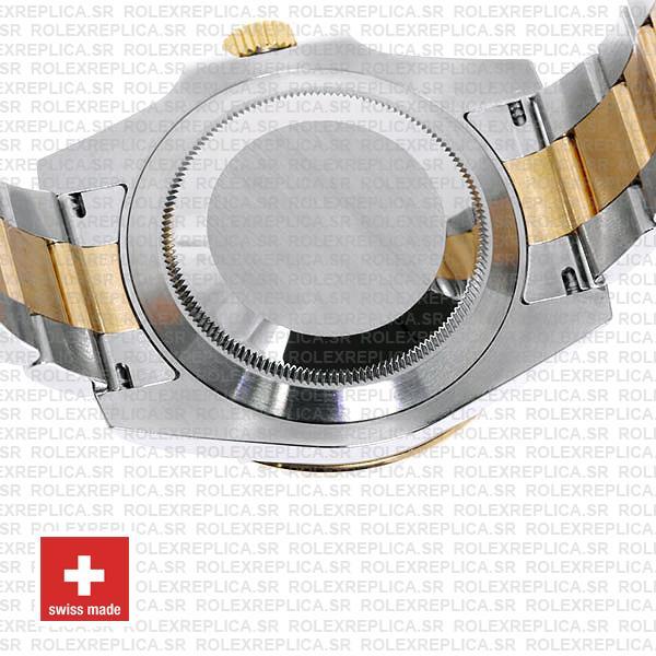 olex Submariner 2 Tone 18k Yellow Gold