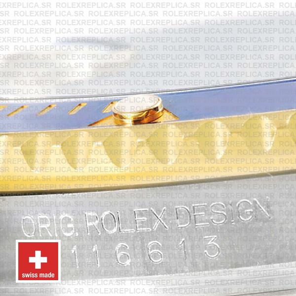 Rolex Submariner 2 Tone 18k Yellow Gold Stainless Steel