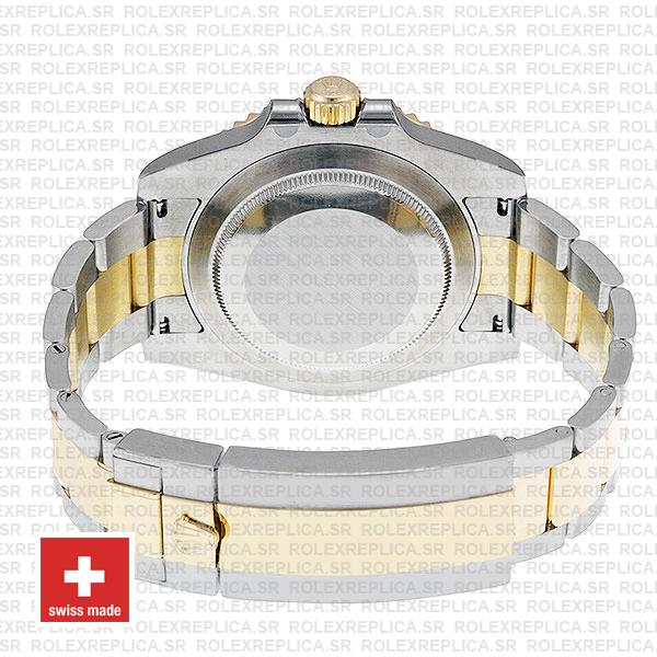 Rolex Submariner 2 Tone 18k Yellow Gold Blue Dial Oyster Bracelet