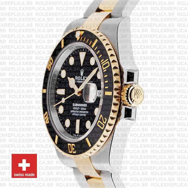 Rolex Submariner 2 Tone Black Dial