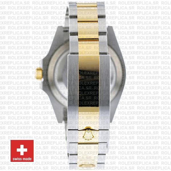 Rolex Submariner 41mm 2 Tone 904L Stainless Steel Blue Dial Blue Ceramic Bezel Watch