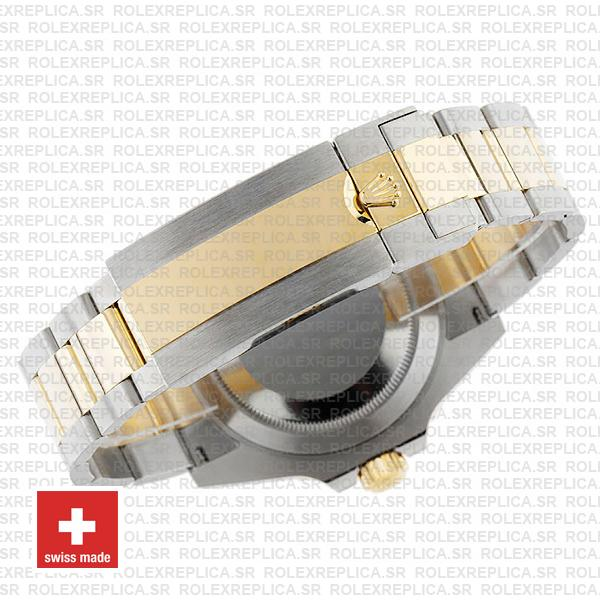 Rolex Submariner 41mm 2 Tone 904L Stainless Steel Blue Dial Blue Ceramic Bezel Rolex Replica Watch