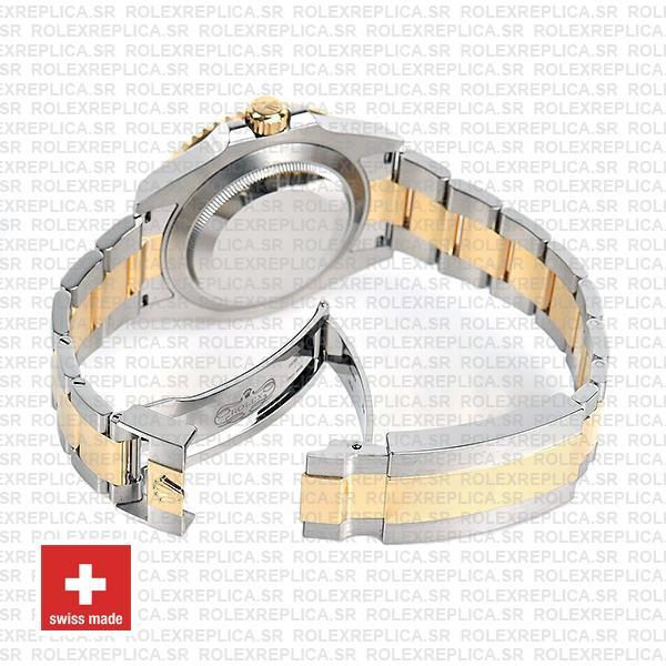 Rolex Submariner 41mm 2tone 904l Steel 18k Yellow Gold Wrap Blue Dial Blue Ceramic Bezel 126613lb Swiss Replica Watch