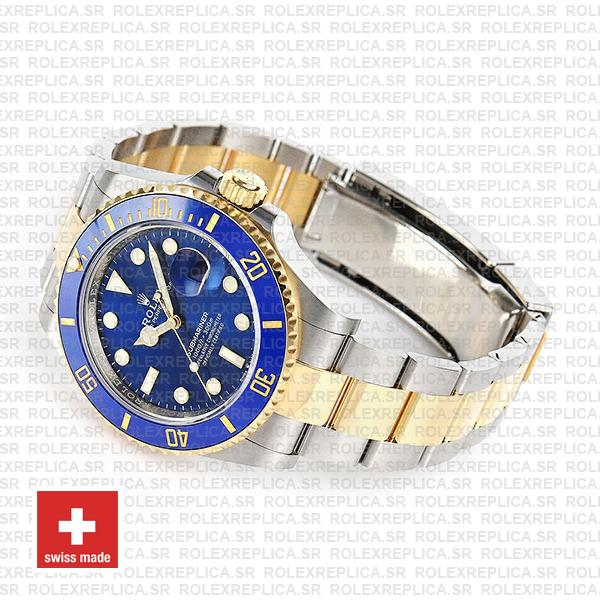 Rolex Submariner 41mm 2 Tone 904L Stainless Steel 18K Yellow Gold Wrap