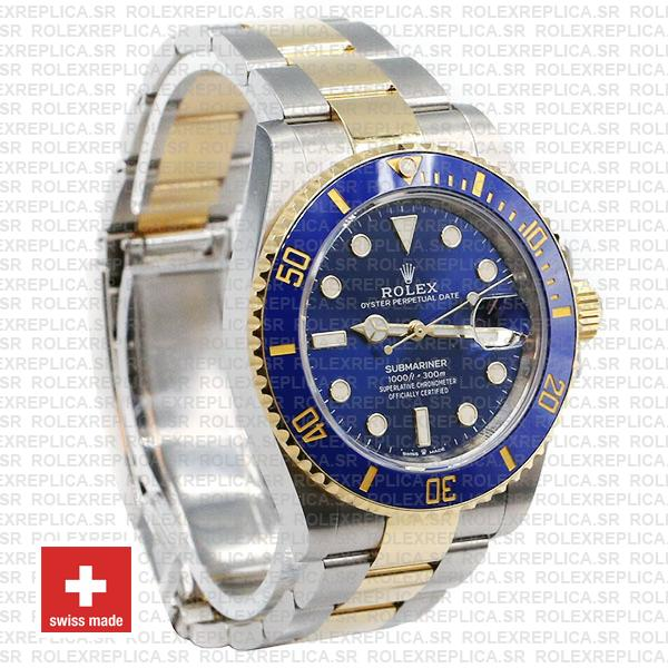 Rolex Submariner 41mm 2 Tone 904L Stainless Steel