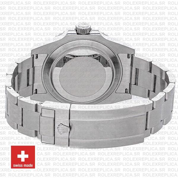 Rolex Submariner 904l Steel No-date Black Dial Ceramic Bezel 124060