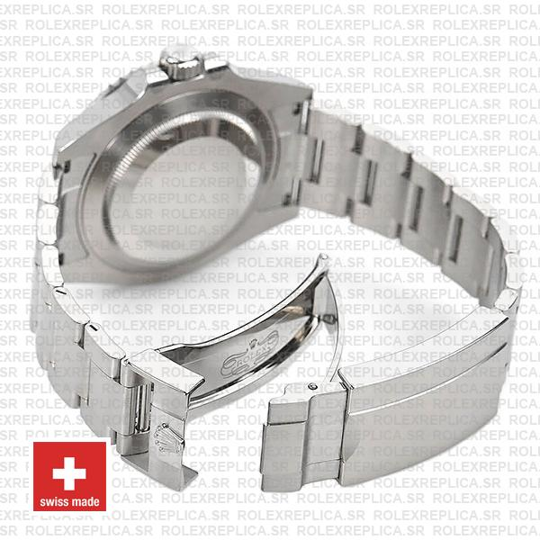 Rolex Submariner 904L Stainless Steel No Date with Ceramic Bezel 124060 Replica Watch