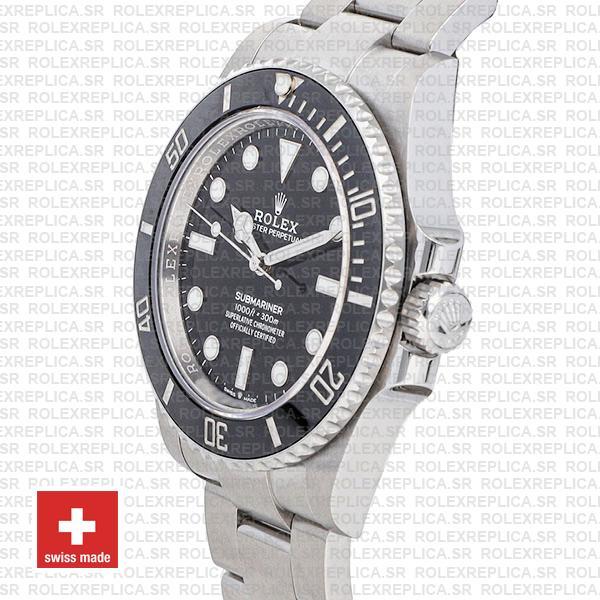 Rolex Submariner 41mm No Date Black Dial Rolex Replica Watch