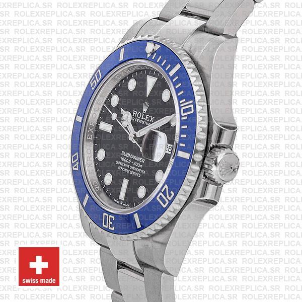 Rolex Submariner White Gold Black Dial 41mm Watch