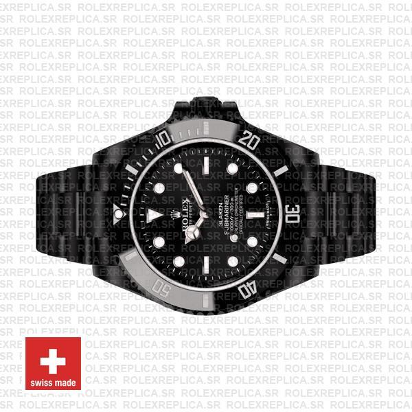 Rolex Submariner Blaken Black Dial 40mm Replica