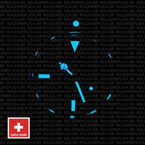 Rolex Submariner Diamond Markers Swiss Replica