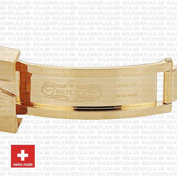 Rolex Submariner Gold Blue Ceramic 904L Steel Oyster Bracelet 41mm Watch