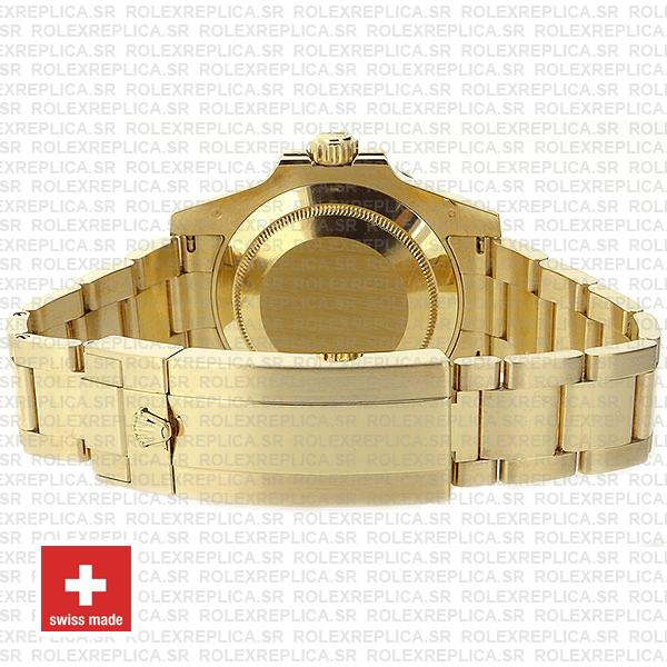 Oyster Perpetual Rolex Submariner 18k Yellow Gold
