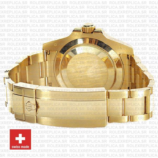 Rolex Submariner 18k Gold Blue Dial 40mm Oyster Bracelet