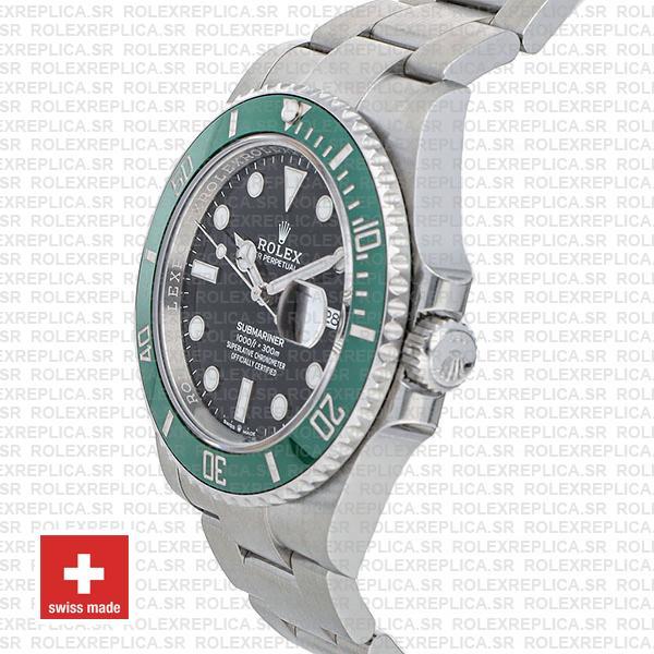 Rolex Submariner 904L Stainless Steel Green Ceramic Bezel