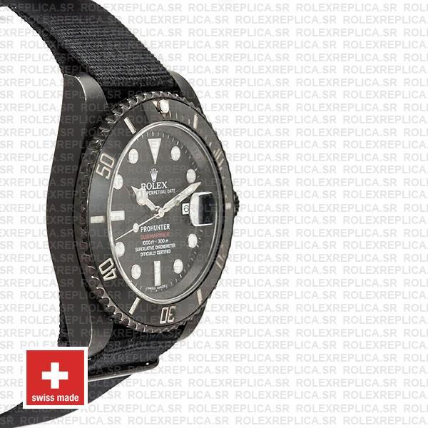 Rolex Submariner Pro Hunter NATO Date Replica Watch