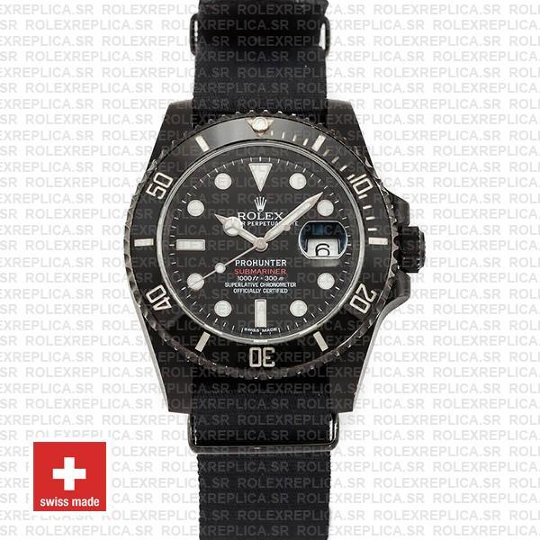 Rolex Submariner Pro Hunter NATO Date