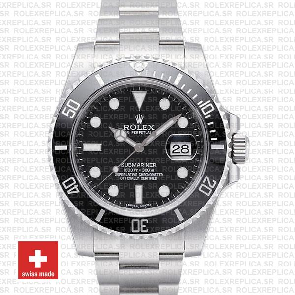 Rolex Submariner Black Dial Ceramic Bezel | Rolex Replica