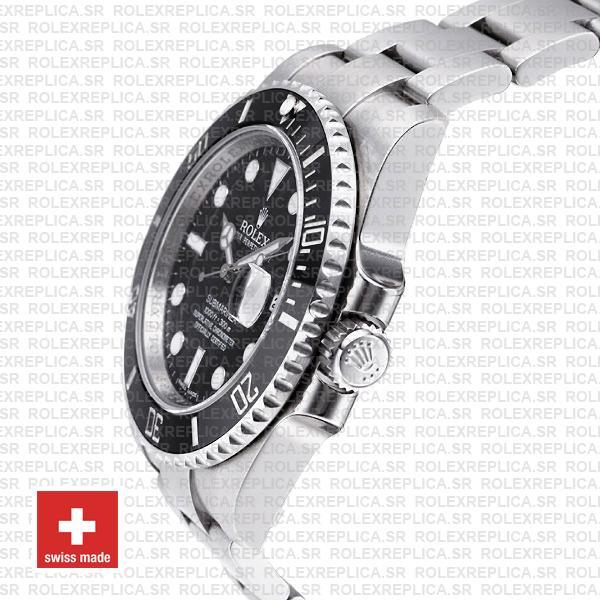 Rolex Submariner Black Dial Ceramic Bezel Rolex Replica