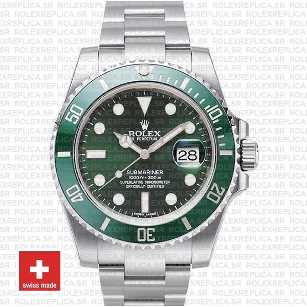 Rolex Submariner Hulk Stainless Steel | Ceramic Bezel Watch