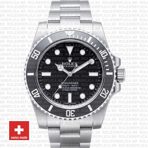 Rolex Submariner No Date Black Dial | Stainless Steel Watch