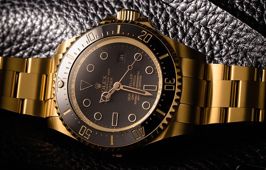 Rolex Deepsea Gold Dlc