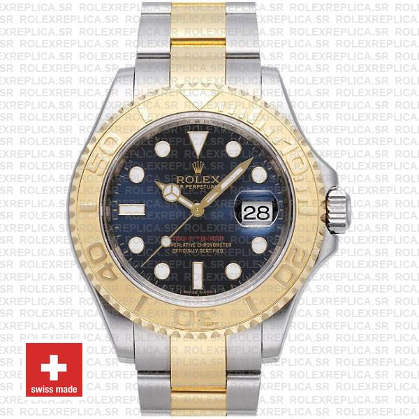 Rolex Yacht-Master Two-Tone Gold Blue Dial | Replica Watch