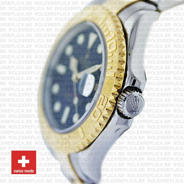 Rolex Yacht-Master Two-Tone Gold Blue Dial Replica Watch