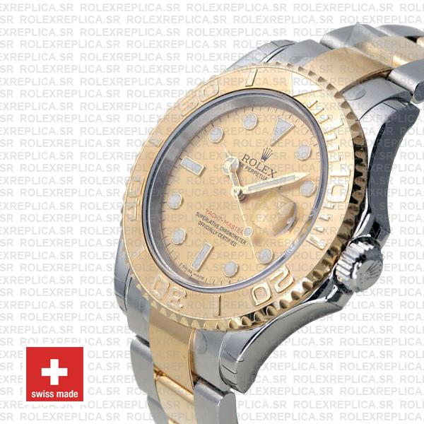 Rolex Yacht-Master Two-Tone 18k Yellow Gold Dial Replica Watch