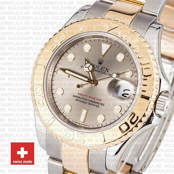 Rolex Yacht-Master Rolesium Two-Tone 40mm Rolex Replica Watch