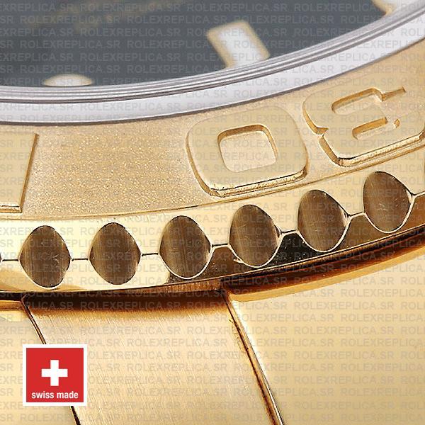 Rolex Yacht-Master Gold Blue Dial 40mm Swiss Replica Watch