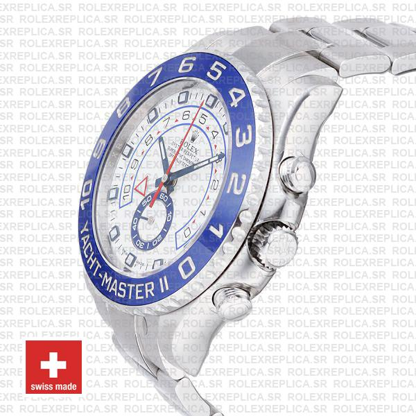 Rolex Yacht-Master II 44mm Stainless Steel Rolex Replica Watch